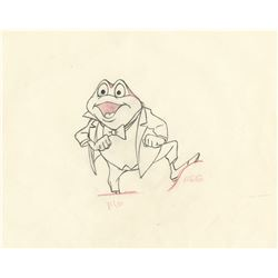 """Mr. Toad"" production drawing from The Adventures of Ichabod and Mr. Toad."