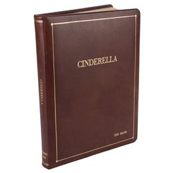 Walt Disney's personal Cinderella script with hand written annotations throughout.