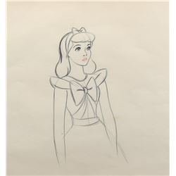 """Cinderella"" production drawing from Cinderella."