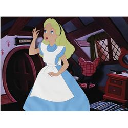 """Alice"" production cel from Alice in Wonderland."