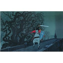 """Prince Philip"" and ""Samson"" production cel from Sleeping Beauty."