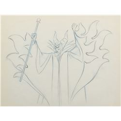 """Maleficent"" production drawing from Sleeping Beauty."