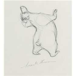 """Baloo"" production drawing from The Jungle Book."