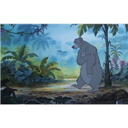 """Baloo"" production cel from Jungle Book."