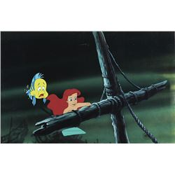 """""""Ariel"""" and """"Flounder"""" production cels from The Little Mermaid."""