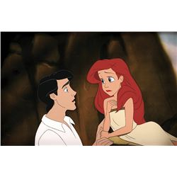 """""""Ariel"""" and """"Eric"""" production cel from The Little Mermaid."""