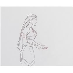 """(3) """"Pocahontas"""" and (1) """"John Smith"""" production drawings from Pocahontas."""