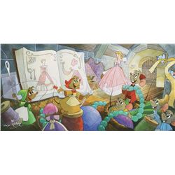 Toby Bluth (3) signed limited edition giclees - Peter Pan, Cinderella and Alice in Wonderland.