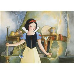 "Toby Bluth signed limited edition giclee featuring ""Snow White""."