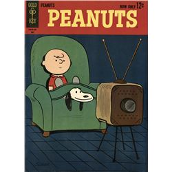 Peanuts No.1 Gold Key comic book.