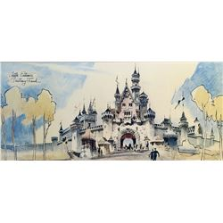 Herbert Ryman Sleeping Beauty's Castle concept print.