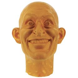 Epcot World of Motion (smiling man) test head sculpt.