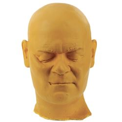 Epcot Spaceship Earth (Sleeping Monk) test head sculpt.