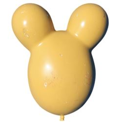 """Disney World parade ""Mickey Mouse"" balloon prop."
