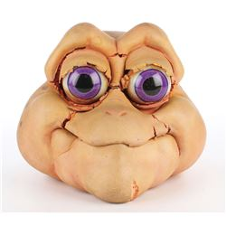 """Baby Sinclair"" screen used puppet head from Jim Henson's Dinosaurs."