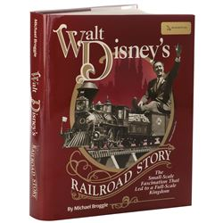 Walt Disney's Railroad Story signed by author Michael Broggie and (50+) Disney figures and others.