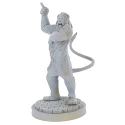 """The Cowardly Lion"" Maquette."