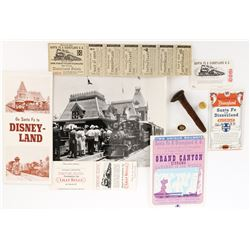 Disneyland Railroad collection.