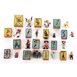Disneykins (14) Marx Elegant minifigures in original boxes.