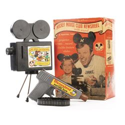 Disneyland Auto-Magic Picture Gun & Mickey Mouse Club Newsreel.