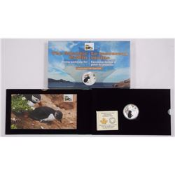 The Atlantic Puffin Stamps & Coin Set. LE/400, Inc