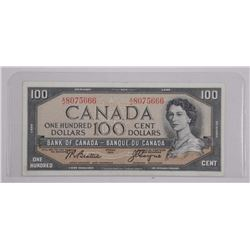 Bank of Canada Hundred Dollar 1954 M.P.