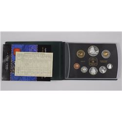 1999 Proof Mint Coin Set w. Silver Dollars