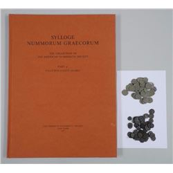 90x Ancient Bronze Roman Coins with Reference book