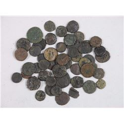 50x Ancient Roman Bronze Coins, up to 2000 years o