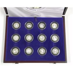(12) piece Sterling Silver Coronation, Proof colle
