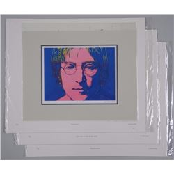 4x John Lennon - Lithos and Includes ANDY WARHOL -