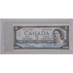 Bank of Canada 1954 - Five Dollar