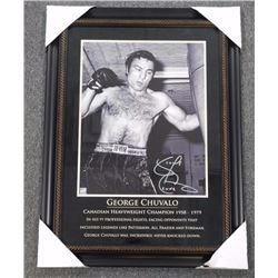 George Chuvalo 16x20, Boxing Ring.