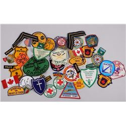 Estate Lot - Patches Includes Police, Forestry and