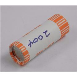 Mint Roll Special Wrap 2004 $10.00 - 25 Cents.
