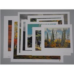 10x Assorted Lithos - Various ICONIC Canadian Arti