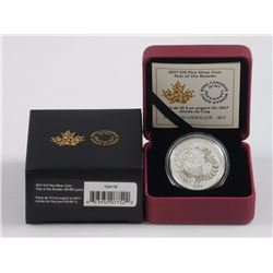 RCM 2017 Year of The Rooster .9999 Fine Silver Coi