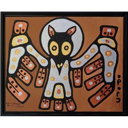 Christian Morrisseau (1969-) Wisdom in the Feather
