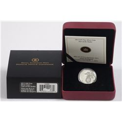 2013 - $20.00, .9999 Fine Silver Year of The Snake