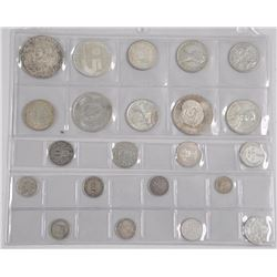 Estate Lot of World and Historic Silver Coins 4.76
