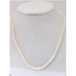 #45-FRESHWATER PEARL WITH STERLING SILVER