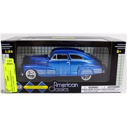 1948 CHEVY AEROSEDAN FLEETLINE SCALE 1:24 DIE CAST