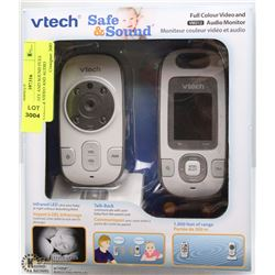 VTECH SAFE AND SOUND FULL COLOUR VIDEO AND AUDIO