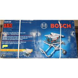 "BOSCH 10"" WORKSITE TABLE SAW W/ GRAVITY WISE"