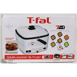 T-FAL 7-IN-1 MULTI COOKER & FRYER