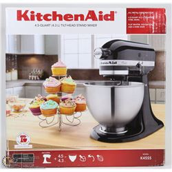 KITCHEN AID K45SS 4.5Q TILT HEAD STAND MIXER
