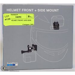 GO PRO HELMET FRONT AND SIDE MOUNT