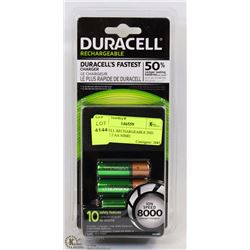 DURACELL RECHARGEABLE IND. CHARGE 2 AA NIMH