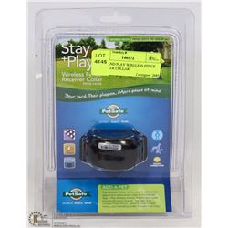 STAY AND PLAY WIRELESS FENCE RECEIVER COLLAR