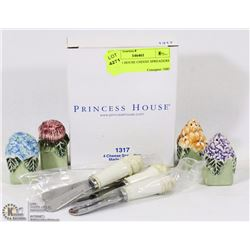 PRINCESS HOUSE CHEESE SPREADERS